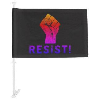 Resist Fist Ipanema Car Flag