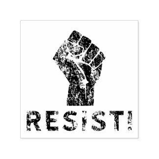 Resist Fist Self-inking Stamp