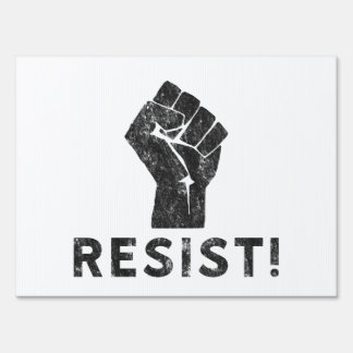 Resist Fist Sign