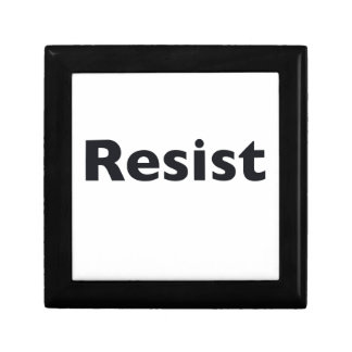 Resist Jewelry Box