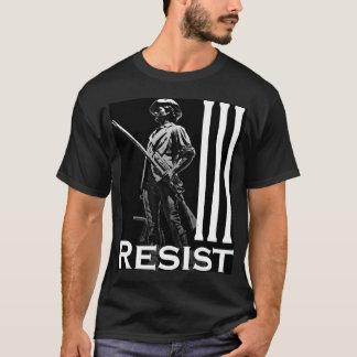Resist Minuteman 2 Black T-Shirt