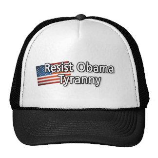 Resist Obama Tyranny Trucker Hat