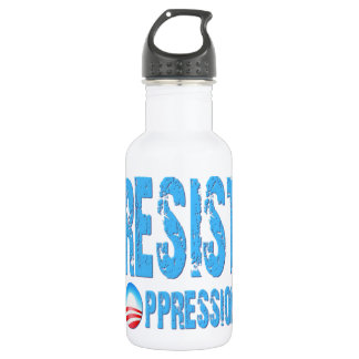 Resist Oppression Anti Obama Stainless Steel Water Bottle