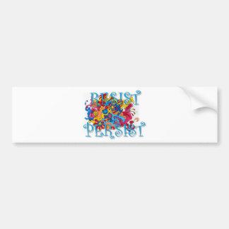 Resist Persist Bumper Sticker