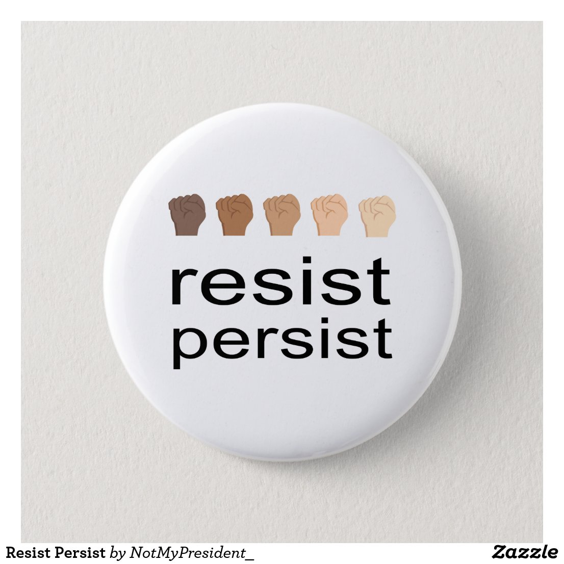 Resist Persist Button