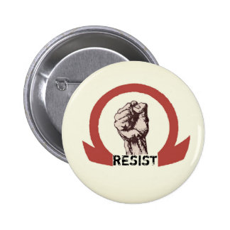 RESIST PINBACK BUTTON