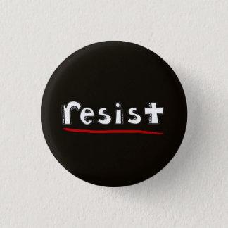 resist pinback button