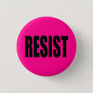 """RESIST"" PINBACK BUTTON"
