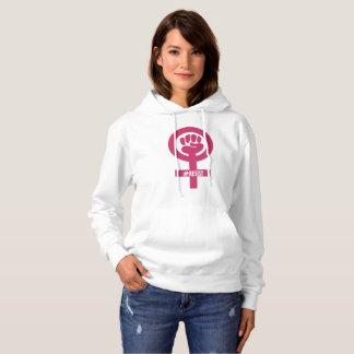 #RESIST Pink Fist Woman's Hoodie