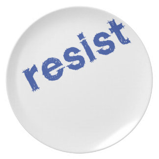 Resist Party Plate