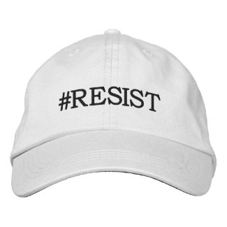 #Resist Political Protest Embroidered Baseball Cap