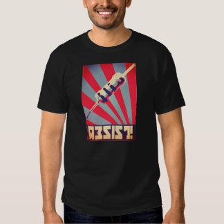 Resist propaganda shirt