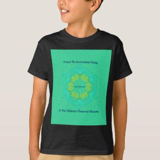 #Resist Protect Environment Anti-Trump Mandala T-Shirt