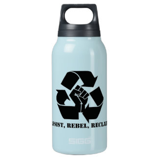 Resist, Rebel, Reclaim 10 Oz Insulated SIGG Thermos Water Bottle