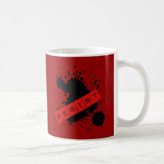 RESIST Rebellious Design Coffee Mug