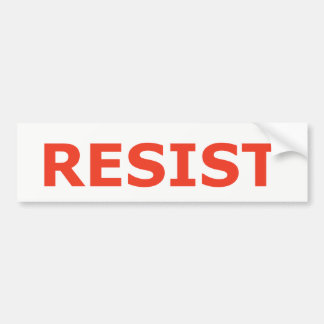RESIST - Red Bumper Sticker
