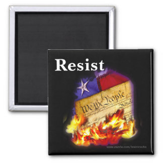 Resist Republicans Destroying the Constitution Magnet