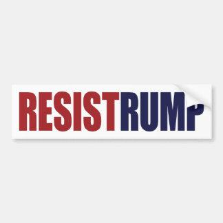 Resist Rump - Anti President Trump Bumper Sticker