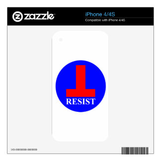 Resist Skin For iPhone 4