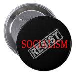 Resist Socialism button