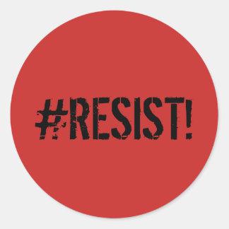 """""""#RESIST"""" Sticker Decal"""