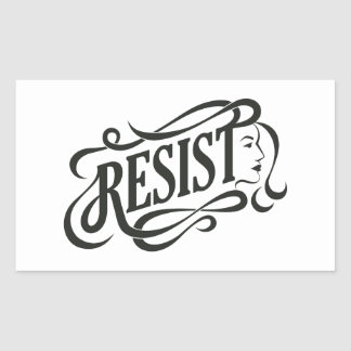 Resist Stickers