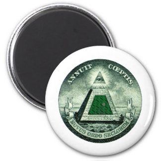 Resist the NEW WORLD ORDER Magnet