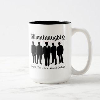 Resist The New World Order Coffee Mugs