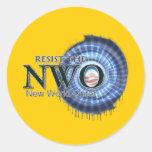 Resist the NWO Sticker