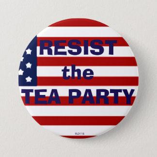 RESIST the TEA PARTY Pinback Button