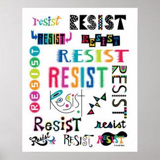 Resist Them Poster