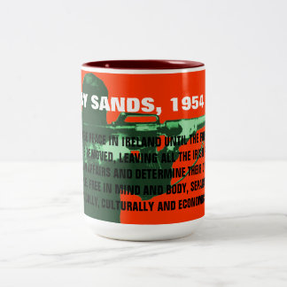 RESIST! Two-Tone COFFEE MUG