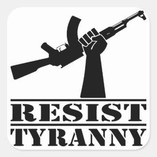 Resist Tyranny AK Sticker