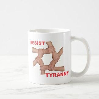 Resist Tyranny Classic White Coffee Mug