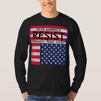 Resist Tyranny Protest T-Shirt