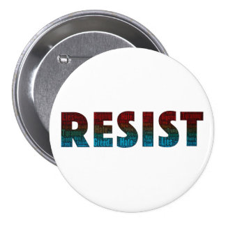 RESIST Word Art Button