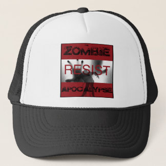 Resist, Zombie Apocalypse Trucker Hat