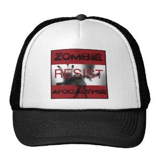 Resista, apocalipsis del zombi gorra