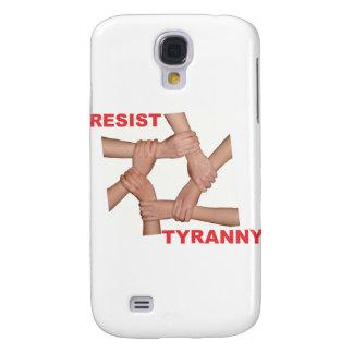 Resista la tiranía funda para galaxy s4