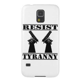 Resista las pistolas de la tiranía carcasas para galaxy s5