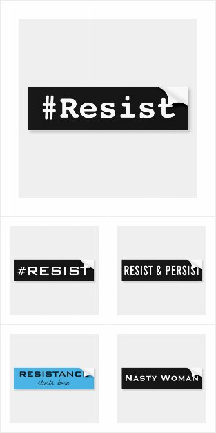 Resistance Bumper Stickers