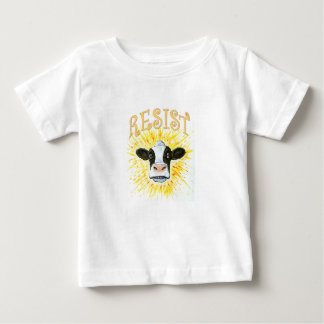 Resistance Dairy Cow Baby T-Shirt
