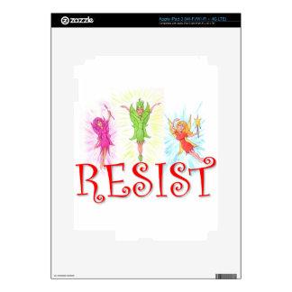 Resistance Fairies iPad 3 Decals