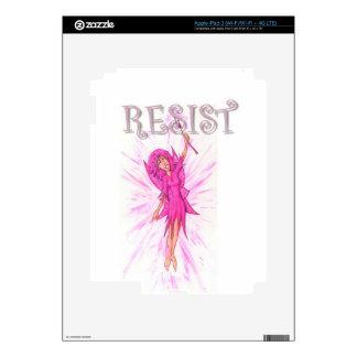 Resistance Fairy iPad 3 Decals