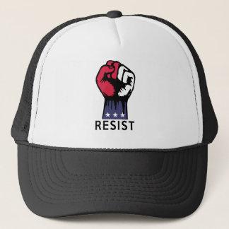 Resistance Fist Fight Political Corruption Trucker Hat