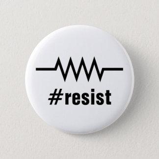Resistance Hashtag Pinback Button