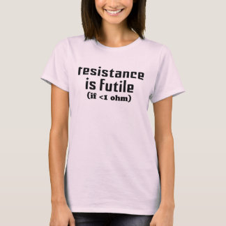 Resistance Is Futile Baby Doll Tee
