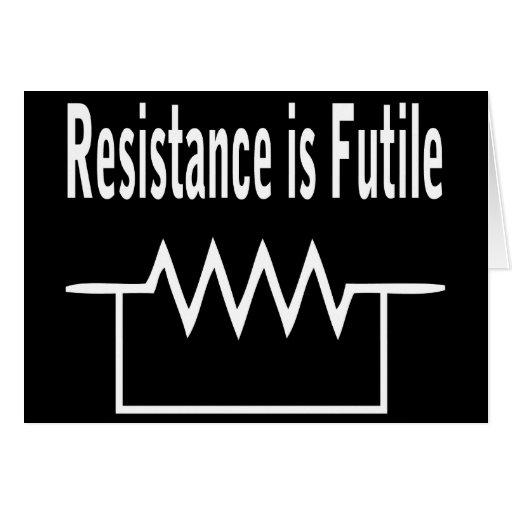 Resistance is Futile Cards