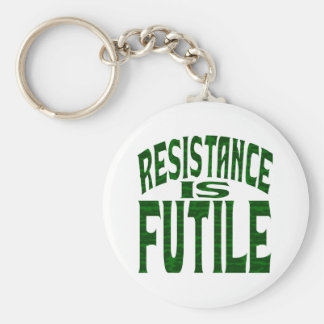 Resistance is Futile Keychain
