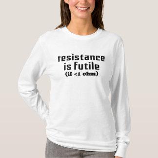 Resistance Is Futile Ladies Hoodie